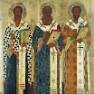 Василий Великий, Григорий Богослов и Иоанн Златоуст. Иконописец Семен Хромой.jpg